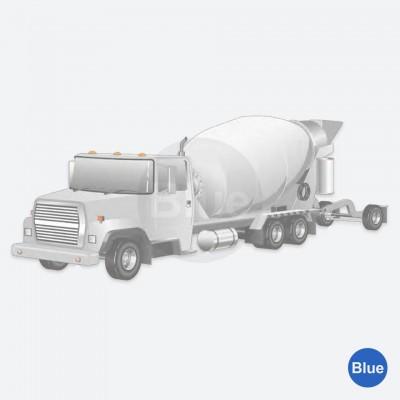 Seguimento de Construção: Caminhão Betoneira