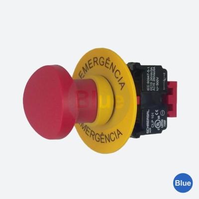 Botão de Emergência Monitorado - Blue