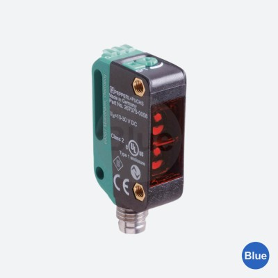 Sensor Fotoelétrico com Supressão de Fundo OBT300-R100-2EP-IO-V31-L - Pepperl+Fuchs