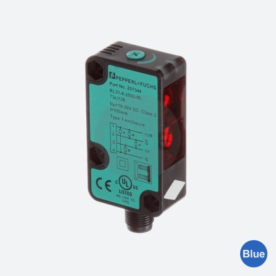 Sensor Fotoelétrico Difuso RL31-8-2500-IR/59/73c/136 - Pepperl+Fuchs